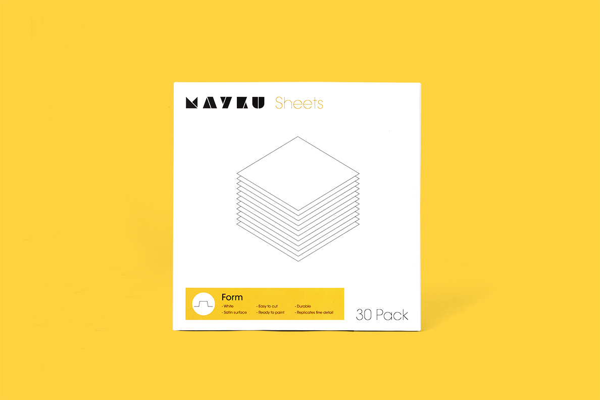 Mayku Form Sheets
